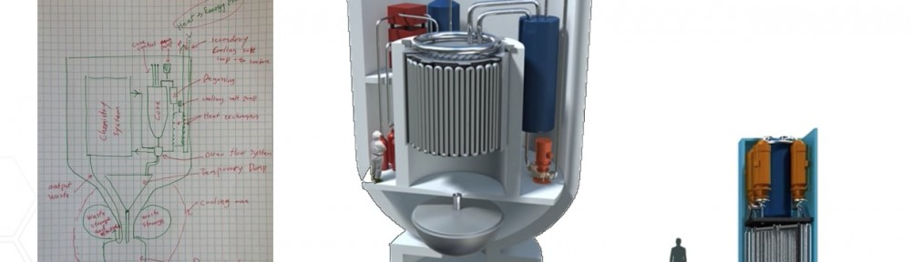 Seaborg  Molten  Salt  Reactor  Will  Fit  on  A T ruck  and  Expense  Less  Than  Coal  Power